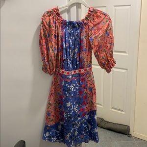 NEW w/tags Saloni Grace Mini Dress Foxglove Meadow
